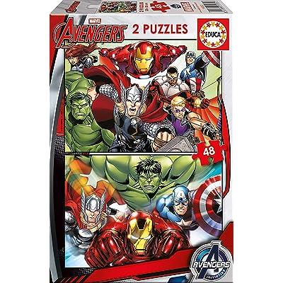 Educa Borrás- Avengers Puzzle (15932): Juguetes y juegos