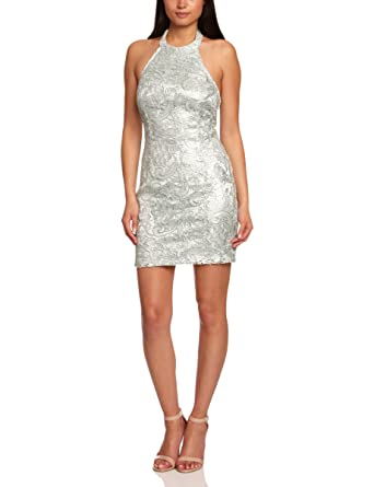 be45c82dd59311 Lipsy DR06874 Halterneck Women s Dress Bay Size 6  Amazon.co.uk ...
