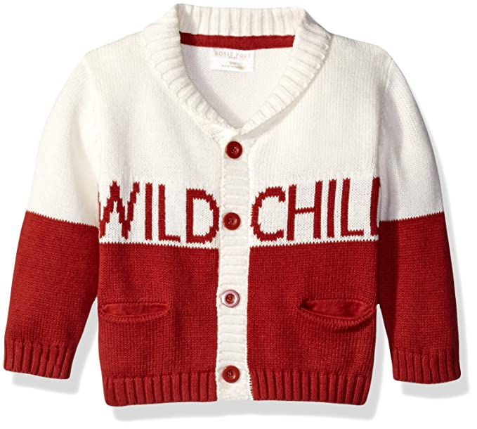 Rosie Pope Baby Boys Baby Wild Child Cardigan Amazon Ca Clothing
