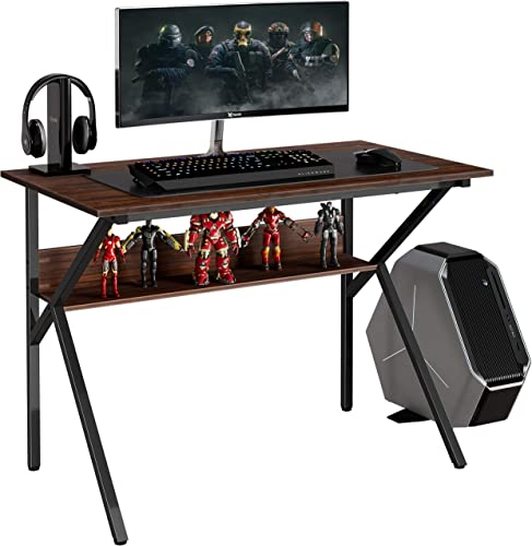 FITUEYES 42″ Gaming Desk Computer Table Review