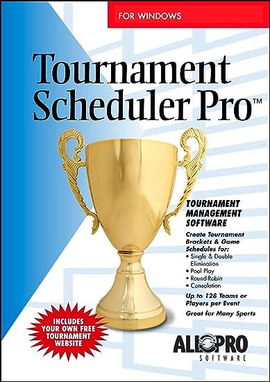 Amazon com: Tournament Scheduler Pro