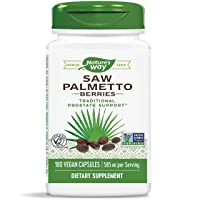 Nature's Way Saw Palmetto Berries; 585 mg; Non-GMO Project Verified; TRU-ID Certified...