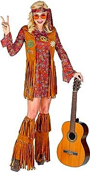 WIDMANN 02860 Disfraz hippie, mujer, multicolor, XXL: Amazon.es ...