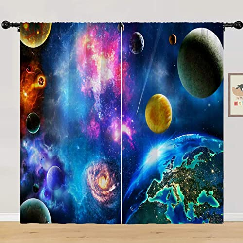 ANHOPE Planet Curtain