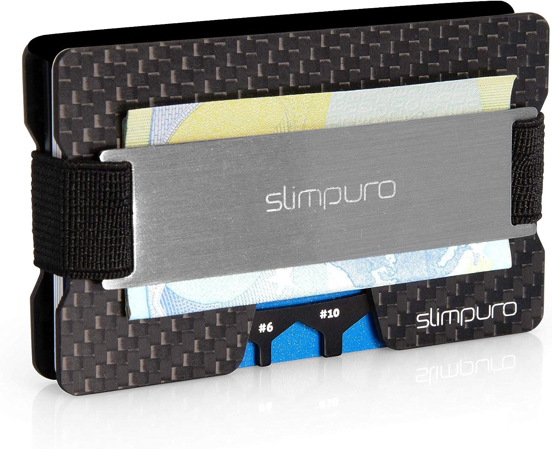 SLIMPURO® Kreditkartenetui mit Münzfach