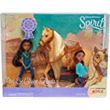 Just Play Spirit Riding Free Small Doll & Collector Horse Set - Prudence and Chica Linda
