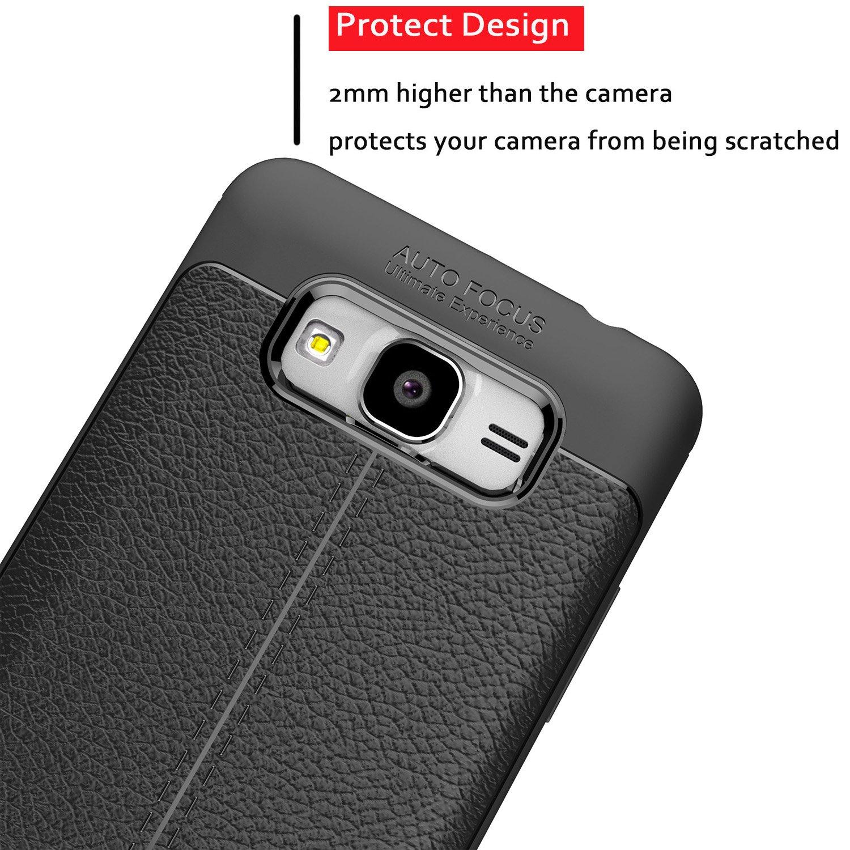 Amazon Galaxy J2 Prime Case TianTa Ultra Slim Case Premium PU Leather and Rubber TPU Design for Samsung Galaxy J2 Prime 2016 Galaxy Grand Prime