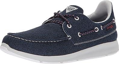 Columbia PFG Mens Delray Slip PFG Boat Shoe