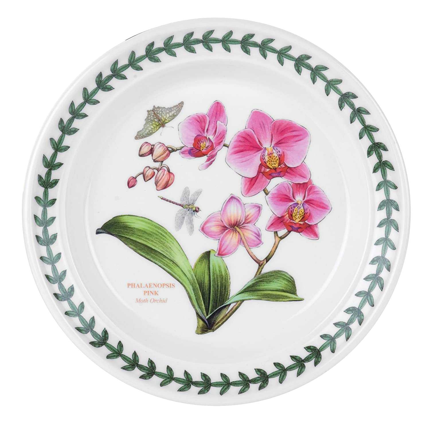 Portmeirion Exotic Botanic Garden Bread and Butter Plate Set with 6 Assorted Motifs