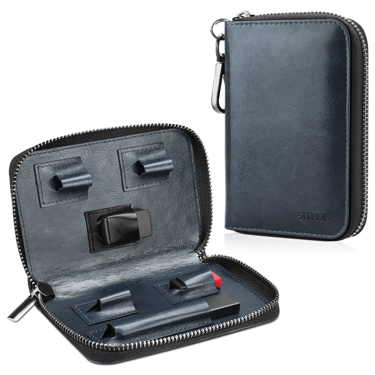 SITHON Vape Carrying Case for JUUL - PU Leather