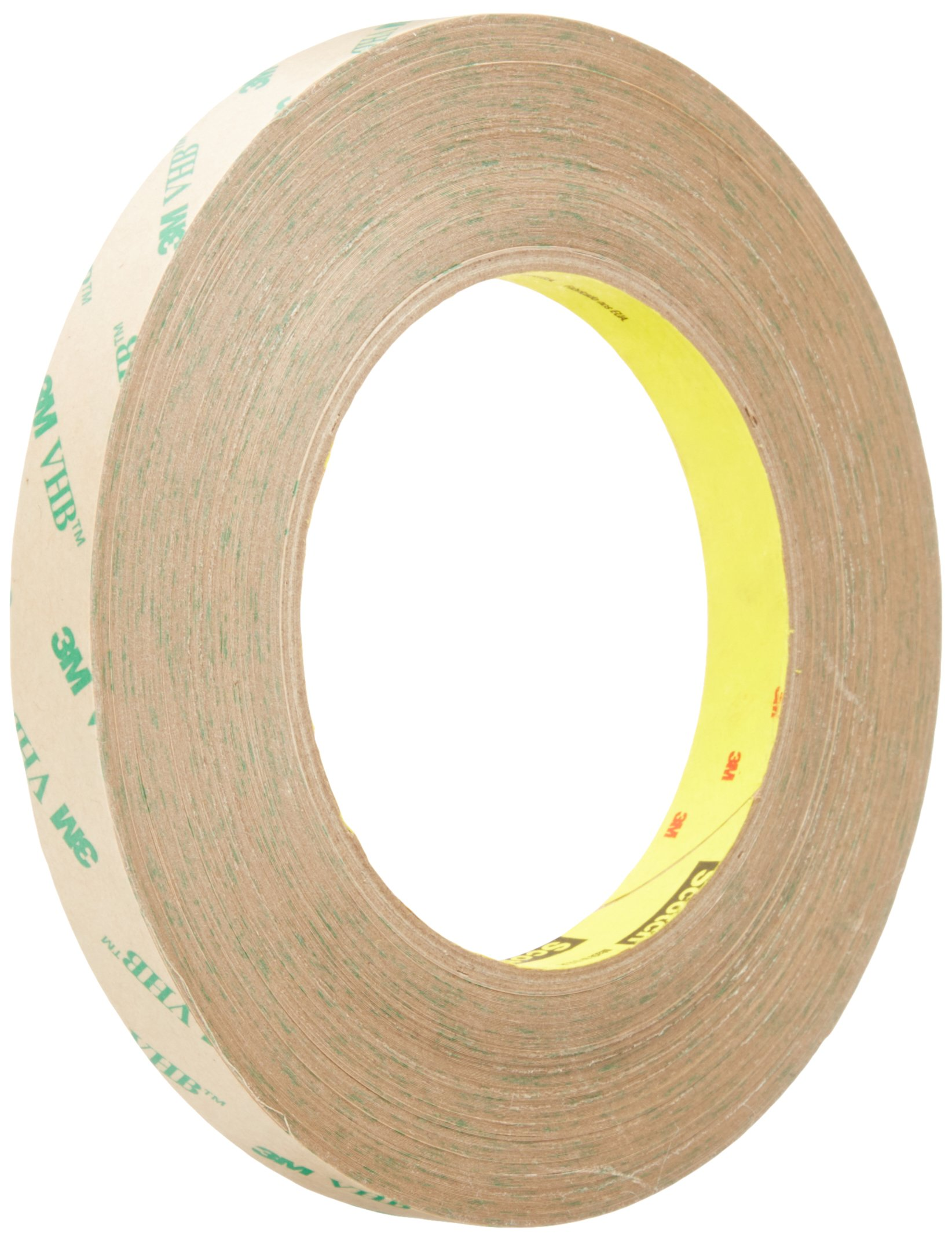 """B SCOTCH ATG ADHESIVE TRANSFER TAPE# 969 1//2/"""" WIDE ROLL 18 YD NEW"""