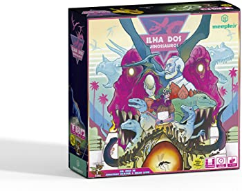 Pandasaurus: Dinosaur Island Board Game