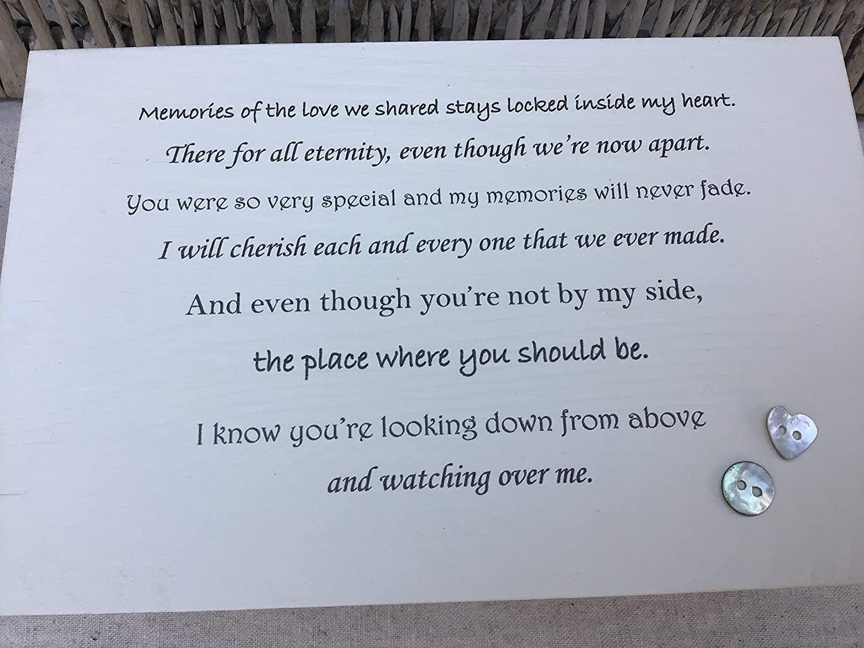PERSONALISED ~ Memory Box MUM BEREAVEMENT ~ LARGE ~ Keepsake In Memory of a loved one ~ any name~