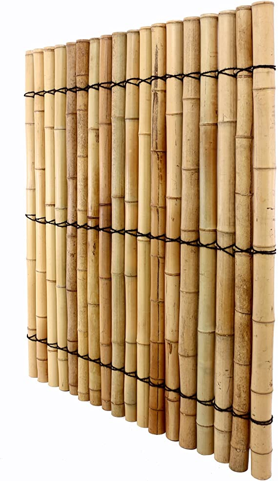 Bambú pared con tubos gruesos 150 x 120 cm Pedidos en línea para ...