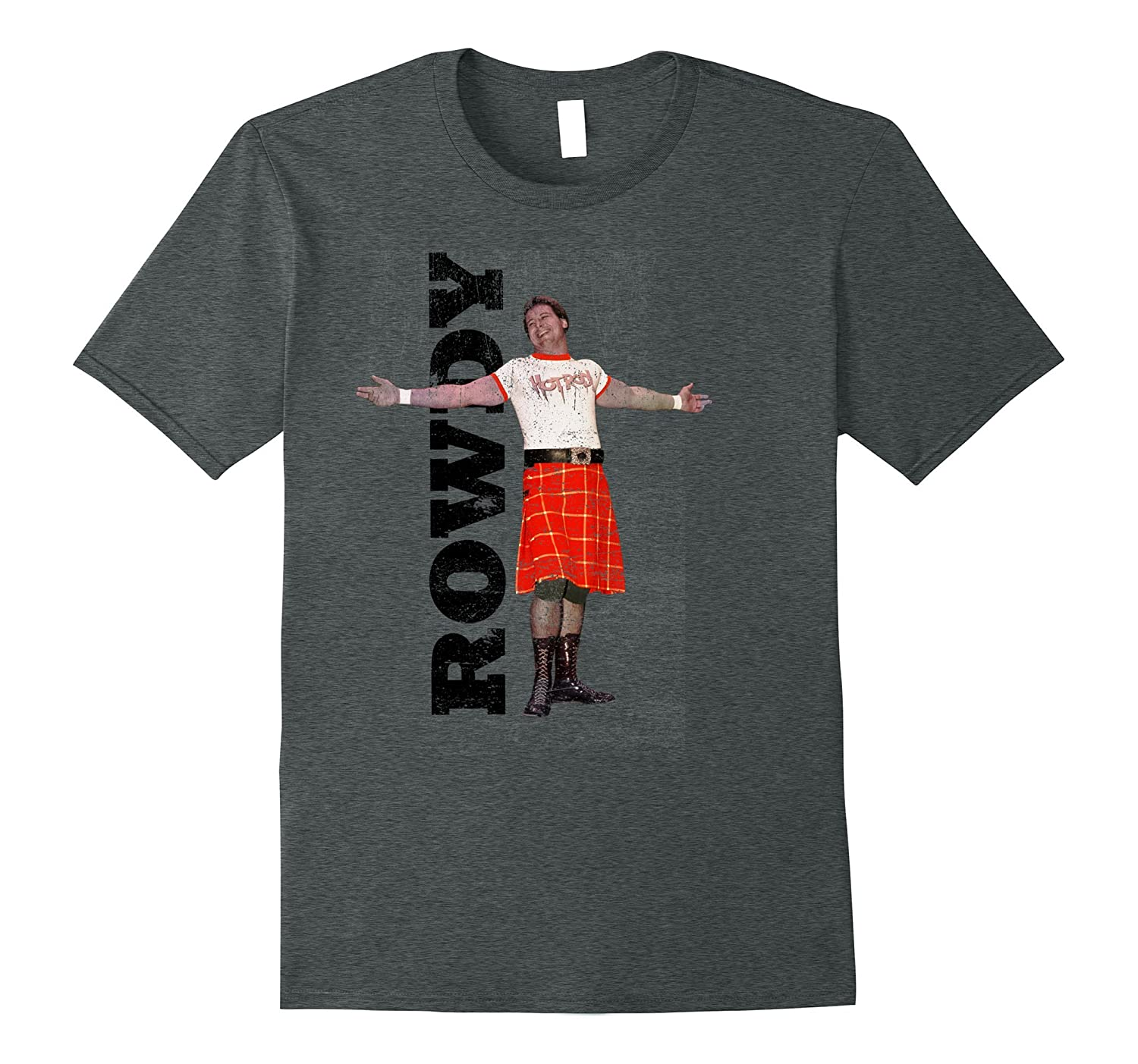WWE Rowdy Roddy Piper Vintage Distressed T-Shirt-ah my shirt one gift