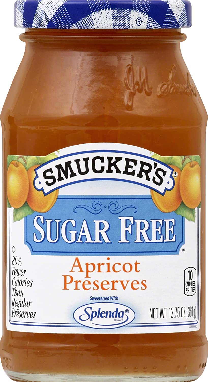 Smucker's Sugar Free Splenda Apricot Preserves, 12.75 oz