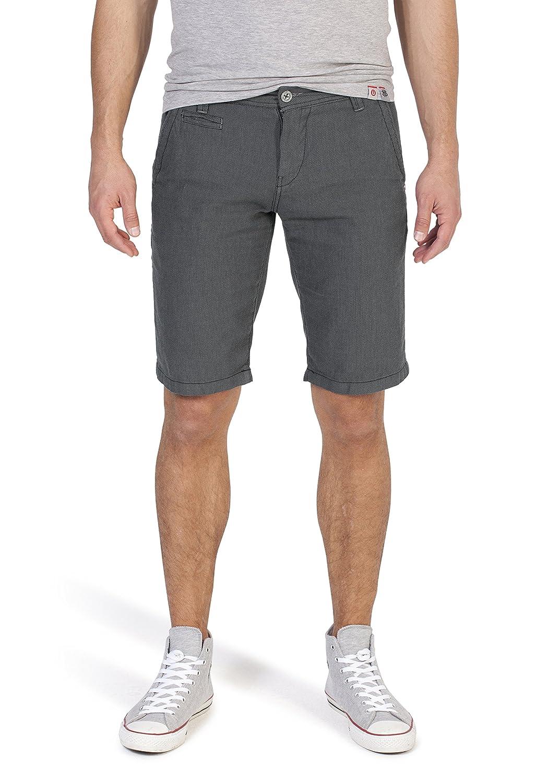 Timezone Slim Marcus Chino Shorts, Pantaloncini Uomo Nero (Black Zigzag) W32 24-10007-00-3180
