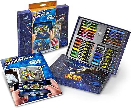 Crayola Color Alive Star Wars Virtual Design Pro Portfolio by Crayola: Amazon.es: Juguetes y juegos