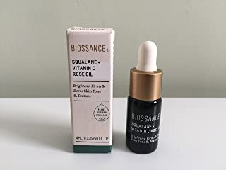 product image for BIOSSANCE Squalane + Vitamin C Rose Oil, Deluxe Mini, 0.13 oz