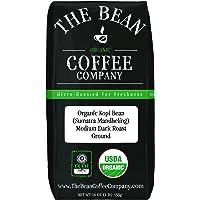 The Bean Coffee Company Organic Sumatra, Medium Dark Roast, Ground, 16-Ounce Bag (ASINPPOSPRME16531)