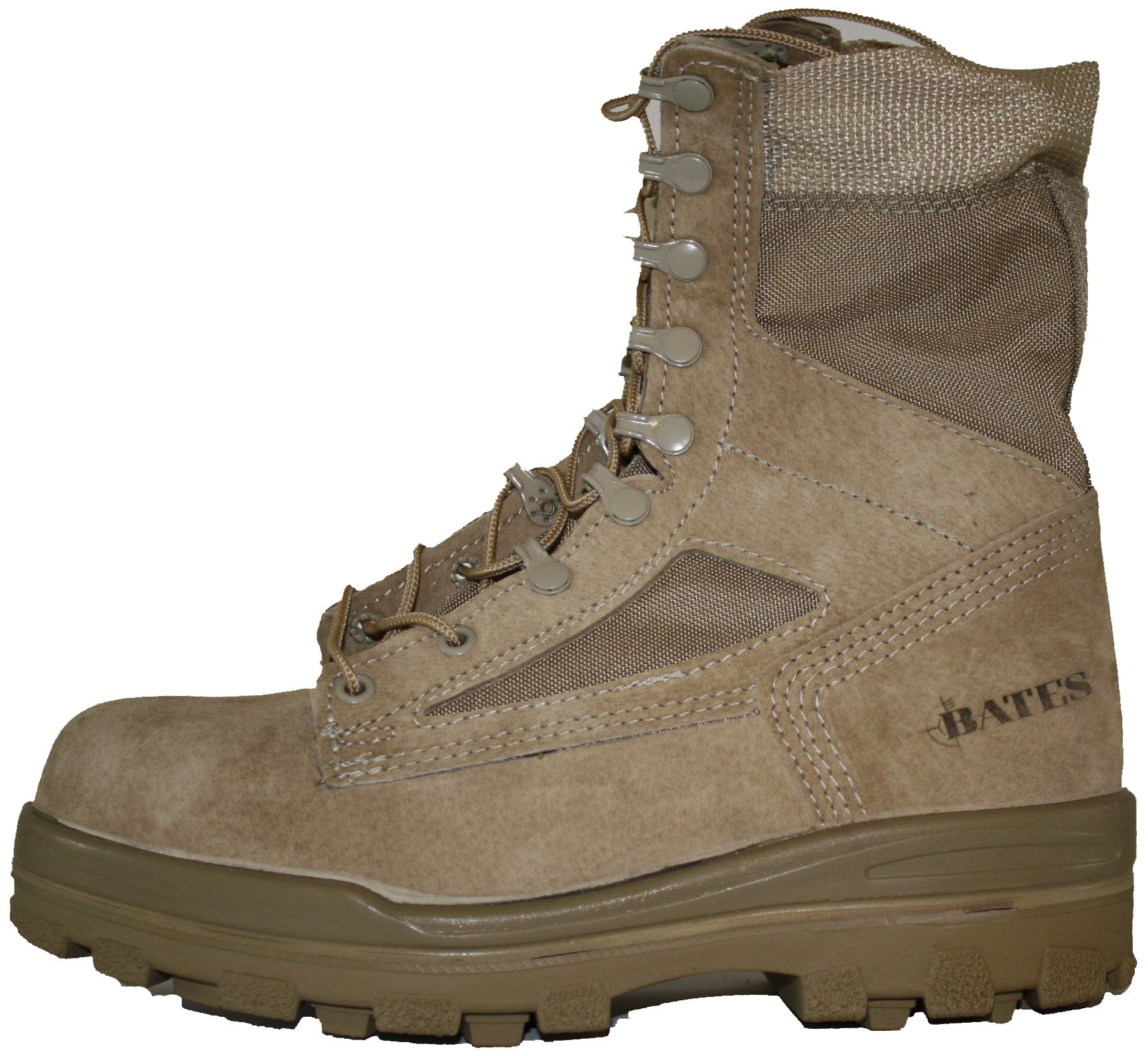 Bates Women's 8 Inches Durashocks Steel Toe Boot,Desert Sand,10 M US by Bates (Image #2)