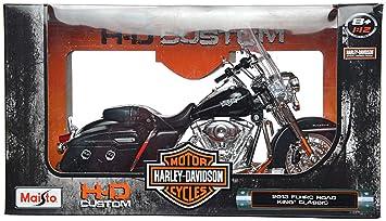 Buy Maisto 1:12 Cast Big Harley-Davidson 2013 FLHRC Road King ...