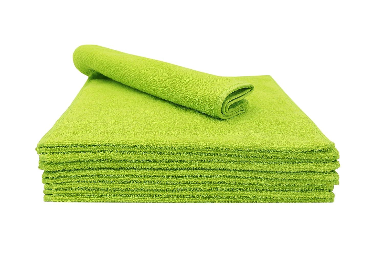 ZOLLNER 10 Toallas de tocador, 30x50 cm, Verde, en Otros Colores, algodón: Amazon.es: Amazon.es