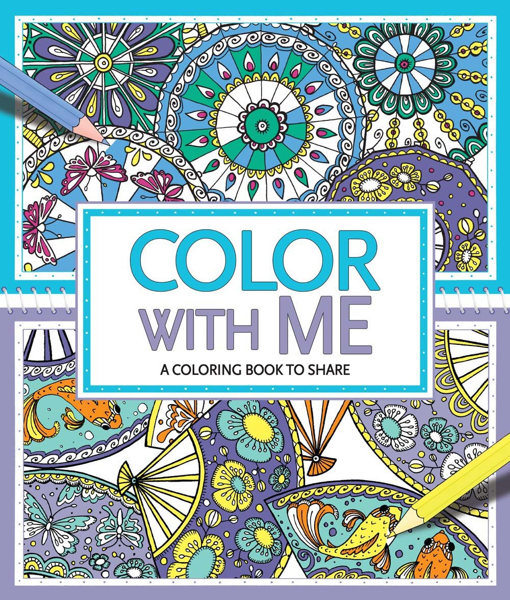 Color with Me: A Coloring Book to Share: Cindy Wilde, Felicity ...