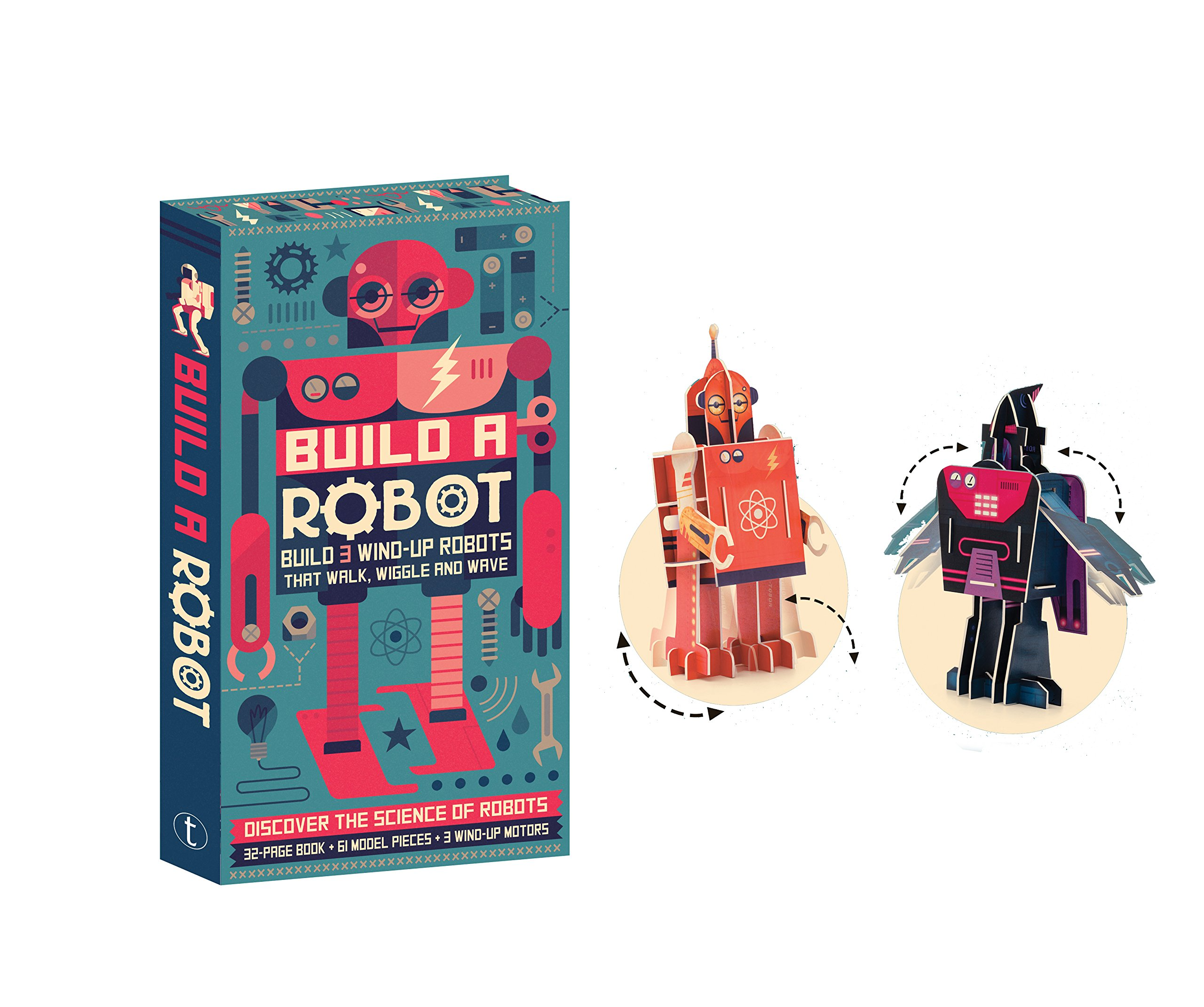 Build a Robot: Amazon.co.uk: Steve Parker, Owen Davey ...