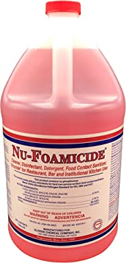 Glissen Chemical Nu-Foamicide EPA Registered 1-Gal All Purpose Cleaner Concentrate, Makes 32 Gallons of Disinfectant/Deterge