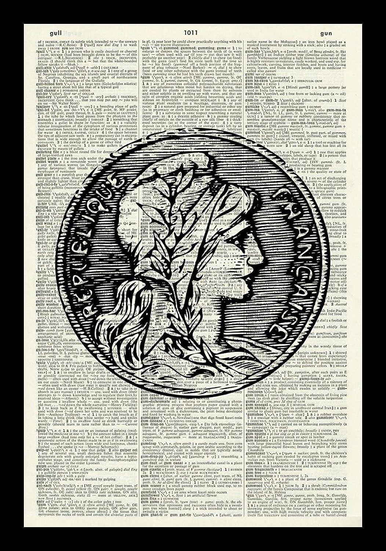 Amazon com: 128 buyloii Republique Francaise Art Print-Ancient