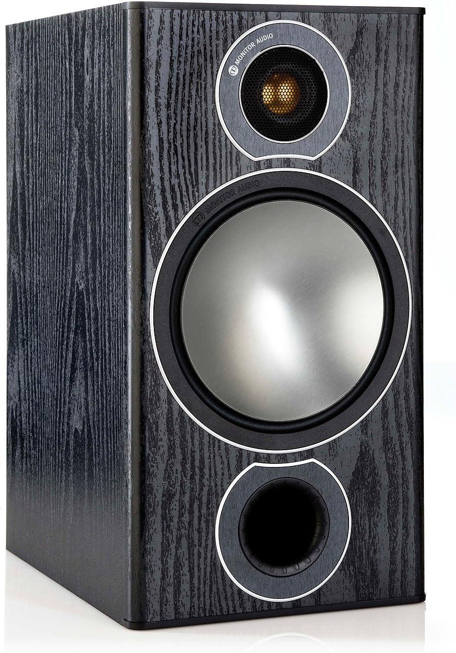 Monitor Audio Bronze 2 Bookshelf Speakers – Black Oak