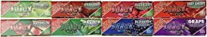 8 booklets x Juicy Jay's Mixed 1 1/4 Flavoured Cigarette Papers, Multi Color, 8 Count (Pack of 1)