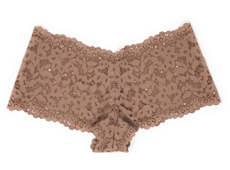98d5fe1b897fe Victoria's Secret Floral Lace Sexy Shortie Panty at Amazon Women's ...