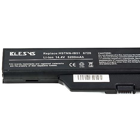 BLESYS - 14.4V 8-Célula Reemplazo para HP Compaq 550 610 615 Business Notebook 6720s 6730s 6735S 6820s 6830s Series HSTNN-IB51 HSTNN-LB51 491278-001 ...