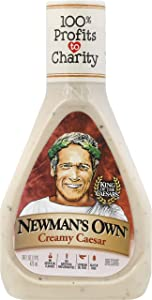 Newman's Own Creamy Caesar Salad Dressing, 16-oz. (Pack of 6)