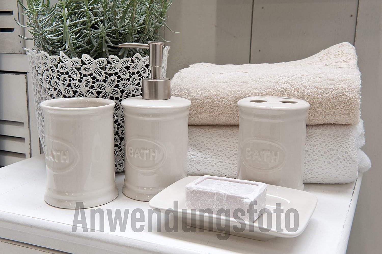 Stile Vintage con togramo Ideale per Gastro e casa Dimensioni 30 x 8 x 0,5 cm C/&E Belle Toilette WC Targa in Metallo Bianco con Scritta Nera