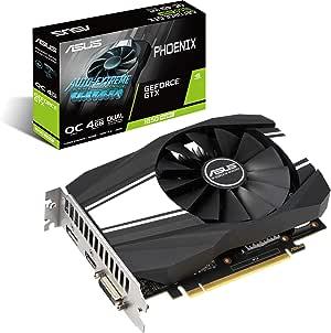 Asus GeForce GTX 1650 Super Phoenix Fan OC Edition 4GB HDMI DP DVI Graphics Card
