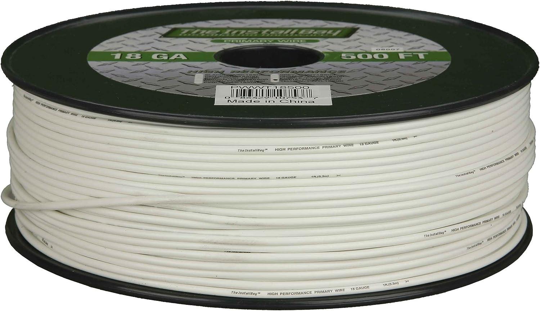 Metra PWWT16500 16 Gauge Primary Wire (White)
