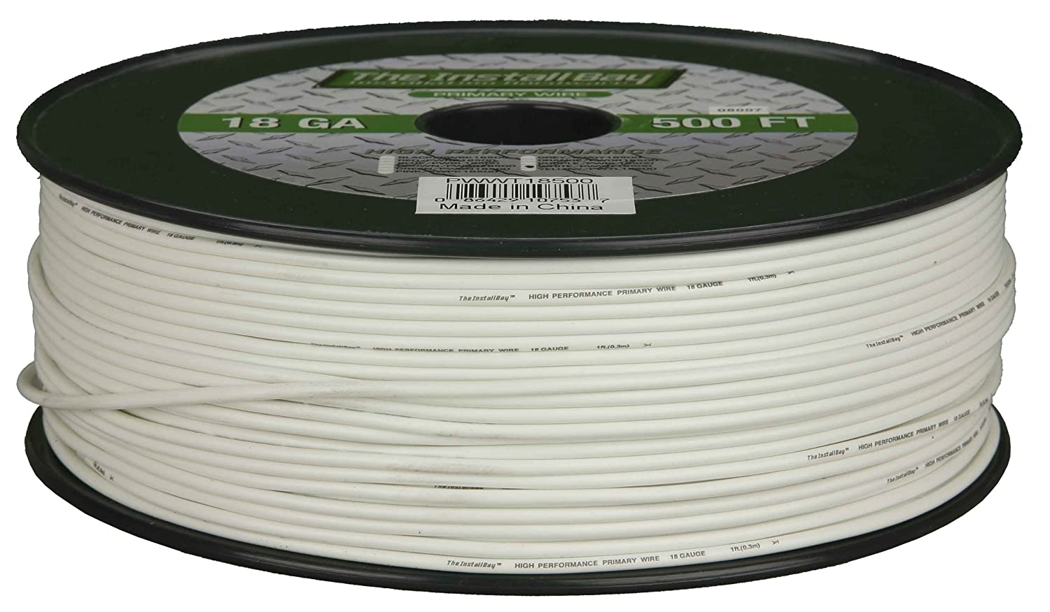 White Metra PWWT16500 16 Gauge Primary Wire