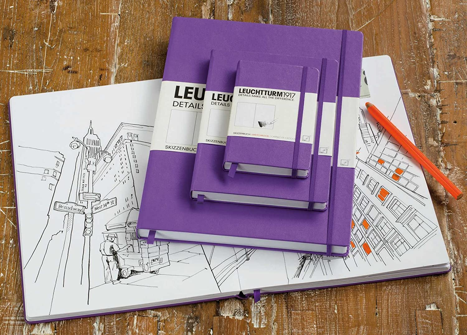 Leuchtturm1917 Large Soft Cover Ruled Notebook | Pens'n'Paper