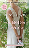 For Better or Worse (Wedding Belles Book 2)