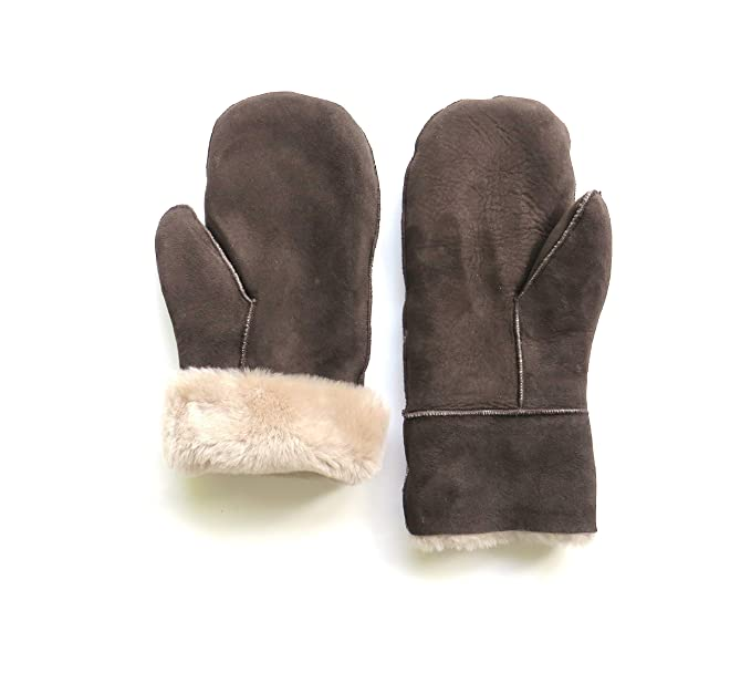 Infos für online zum Verkauf Premium-Auswahl Lammfell Handschuhe Lammfell Fäustlinge schwarz od. braun, Damen und  Herren, Größenbeschreibung siehe Produktbeschreibung