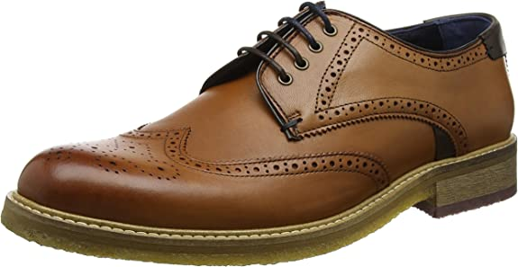 TALLA 44 EU. Ted Baker Prycce, Zapatos de Cordones Oxford Hombre