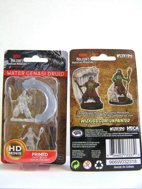 D/&d Nolzurs Marvelous Miniatures Water Genasi Male Druid
