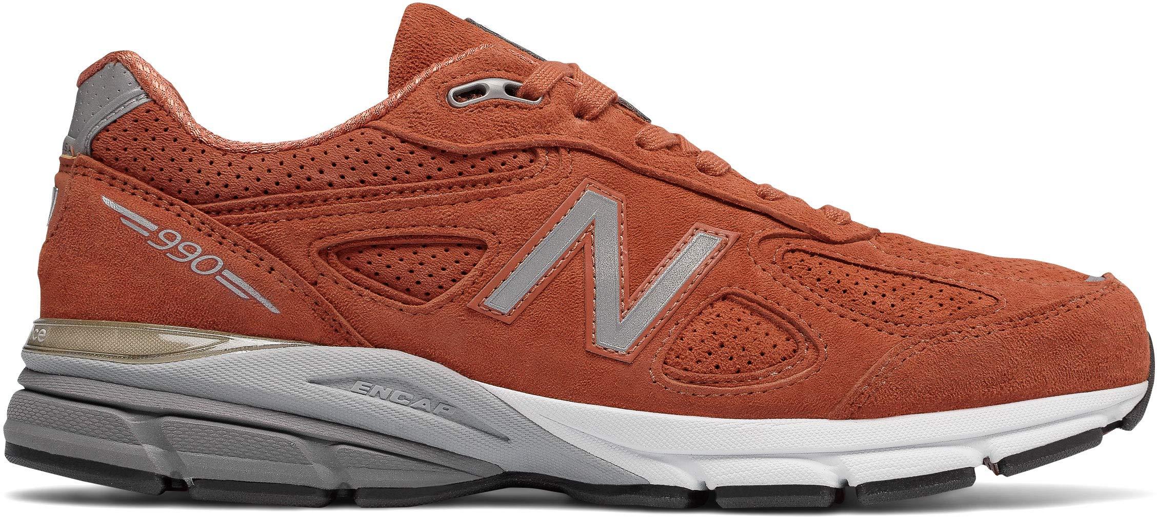 New Balance PERFRUN 990v4 Orange by New Balance