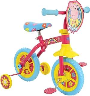 Disney Bicicleta Niño Minnie con Barra de Aprendizaje 10 pulg Rosa ...