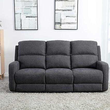 Cool Canmov Soft Warm Microfiber Velvet Recliner Sofa Living Room Chair Motion Sofa Recliner Couch Manual Reclining Sofa Recliner Chair Sofa 3 Seater For Machost Co Dining Chair Design Ideas Machostcouk