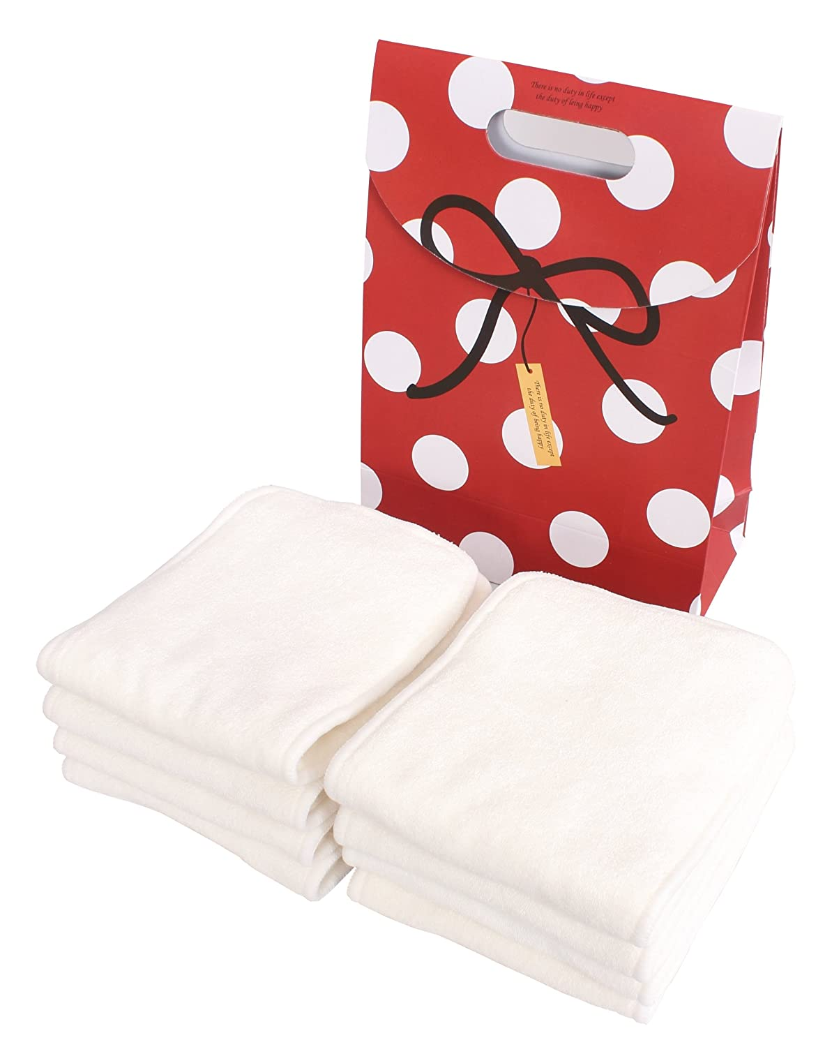 4 Layer Bamboo Inserts Boosters Modern Cloth Reusable Nappy//Diaper 100/% Bamboo
