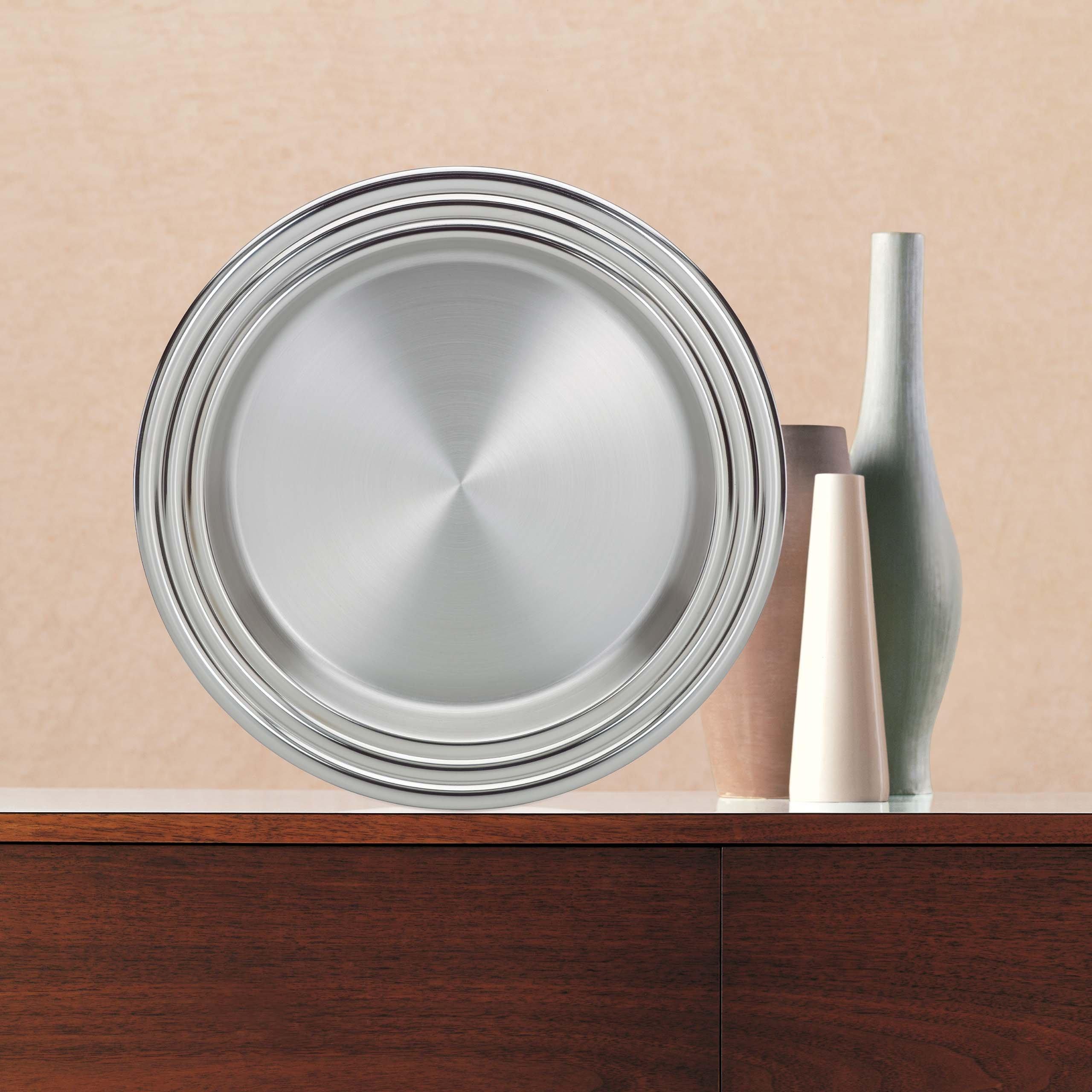 Lenox Tuscany Classics Stainless-Steel Tray by Lenox